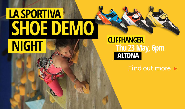 La Sportiva Shoe Demo Cliffhanger