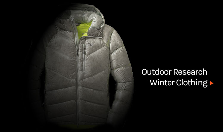 Outdoor Research clothing