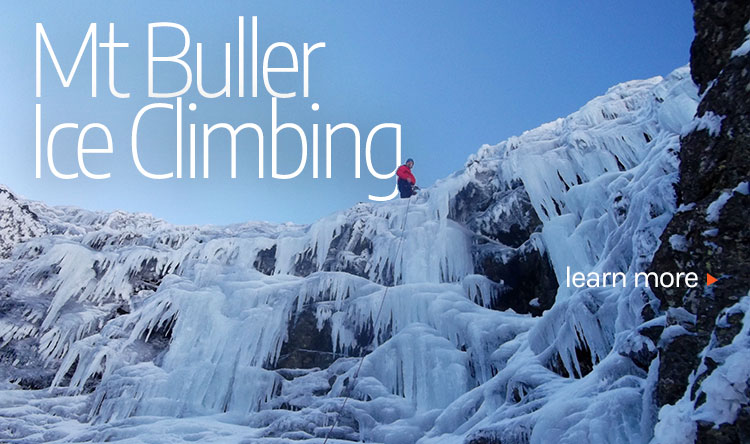 ice climbing in Victoria