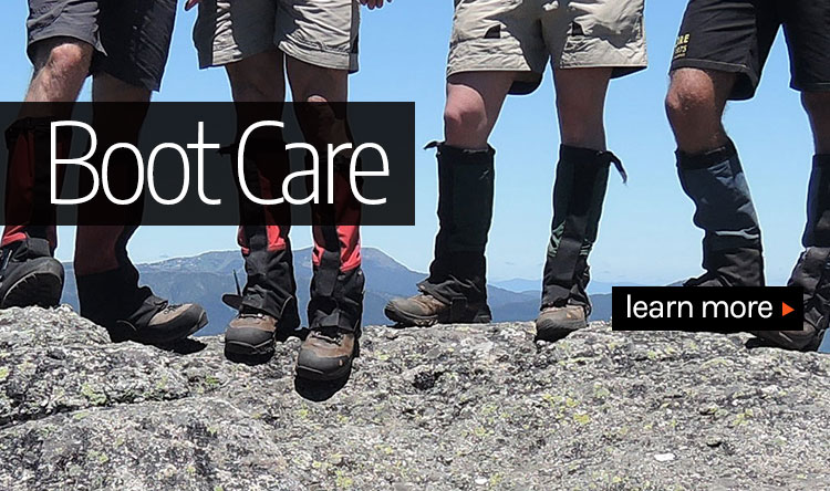 hiking boot care