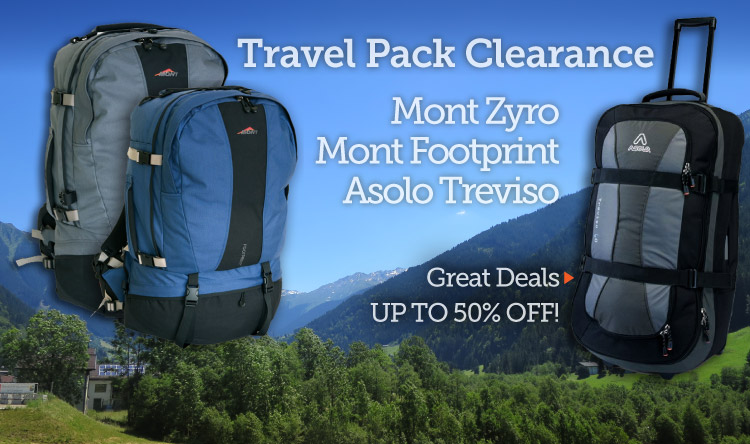 Travel Pack Sale