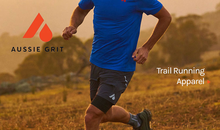 Aussie Grit running apparel